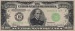 Series 1934 $10,000 bill, Obverse