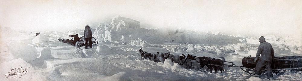 Expedice cestovatele Williama Zieglera při dobývání Severního pólu v letech 1903-1905.