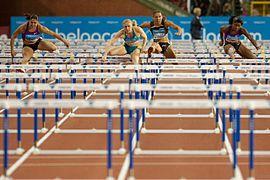 100 m hurdles Memorial Van Damme 2010.jpg