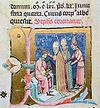 Chronicon Pictum P121 III. István koronázása.JPG