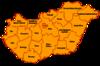 Judeţele Ungariei