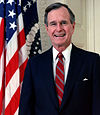 George H. W. Bush, forty-first President of the United States