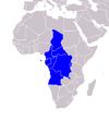Localização dos membros da OCI na África.