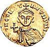 Moneta rappresentante Costantino V.JPG