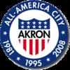 Stema City of Akron  Orașul Akron