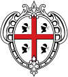 Wappen der Region Sardinien