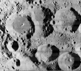 Jenkins crater and surroundings