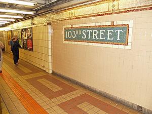 103rd Street (IRT Lexington Avenue Line) by David Shankbone.jpg
