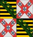 Znak dynastie Braganza-Sasko-Coburg-Gotha