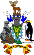 Wappen Sdgeorgiens und der Sdlichen Sandwichinseln