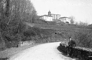 Fotografía tomada en 1914 por Indalecio Ojanguren