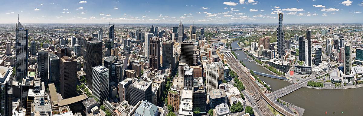 Panorama de Melbourne.