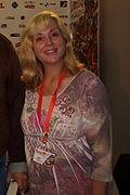Tracy Hickman con la moglie Laura, autori del modulo di avventura Ravenloft, dopo l'incontro con il pubblico italiano a Lucca Comics & Games 2008)