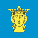 Bandeira oficial de Estocolmo