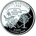 Quarter of South Carolina