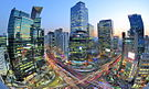 Gangnam Station and Samsung Town, New Downtown Seoul in Korea.jpg