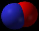 3D model molekuly NO