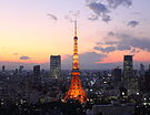 Tokyo Tower Afterglow.JPG
