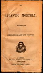 Erstausgabe Atlantic Monthly