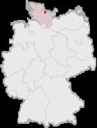 基尔在德国内的位置图