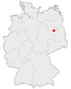 波茨坦在德国内的位置图