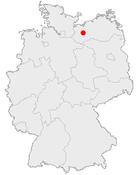 什未林在德国内的位置图
