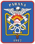 Brasão do Corpo de Bombeiros da Polícia Militar do Paraná.