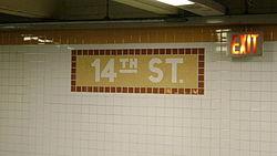 14th Street Name Tablet.JPG