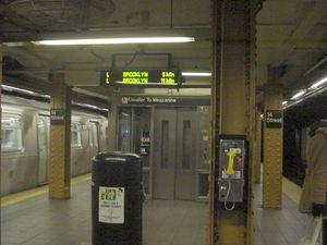 14th Street Union Square BMT Canarsie Line elevator.JPG