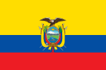 Flagge Ecuadors
