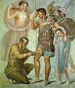Iapyx removing arrowhead from Aeneas.jpg