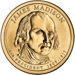 James Madison Presidential $1 Coin obverse.png