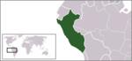 Localizzazione del Perù