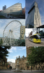Città di Manchester – Veduta