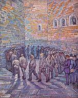 La ronda dei carcerati, 1890, Museo Puškin, Mosca