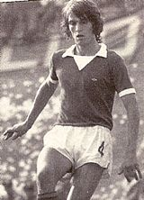 Tardelli with Como Calcio jersey.