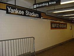 161st Street River Avenue Yankee Stadium ID.JPG