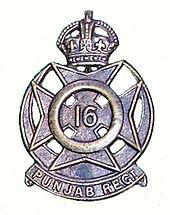 16th Punjab Regiment badge 1922-56.jpg