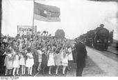 Eröffnung des Hindenburgdamms