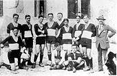 Formazione del Padova annata 1914-15