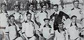 Formazione del Padova nel campionato di Prima Divisione 1921-1922