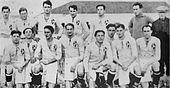 Formazione del Padova nel campionato di Prima Divisione 1922-1923