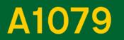 A1079 road shield