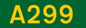 A299 road shield