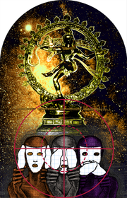 Adrian Piper, The Color Wheel Series #29: Annomayakosha