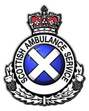 The logo of the Scottish Ambulance Service
