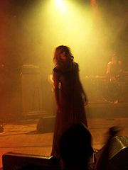 Gunnhild Sundli at Rock Mot Rus at Andøya, 2005