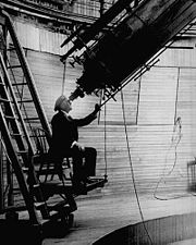 Percival Lowell-observing Mars from the Lowell Observatory.jpg