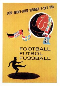 1958年世界盃足球賽標誌