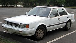1987-1989 Nissan Stanza GXE.jpg